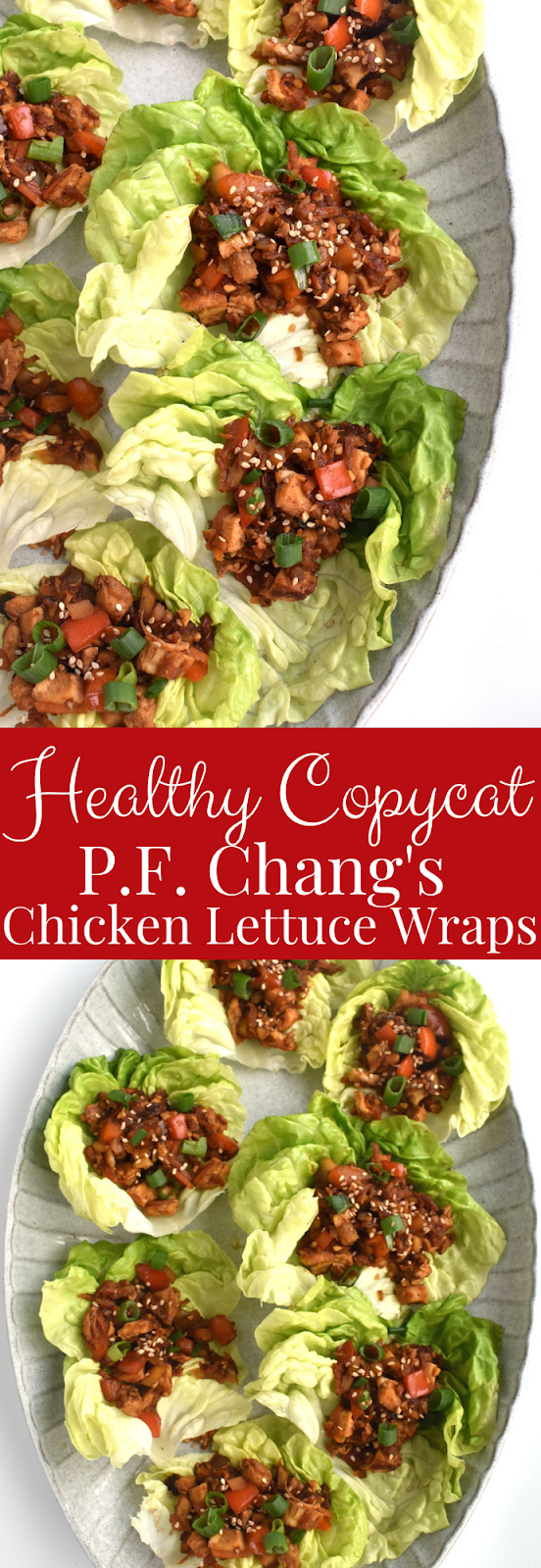 Healthy P.F. Chang's Chicken Lettuce Wraps