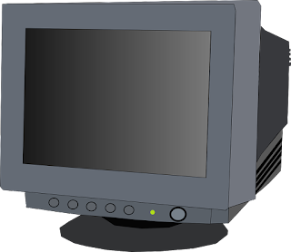 Color CRT (Cathod Ray Tube) Monitor