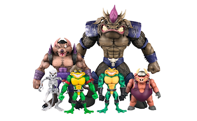 Battletoads Anthology Collection Wave 1 Action Figures by Premium DNA Toys