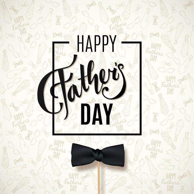 happy fathers day bow tie wallpaper