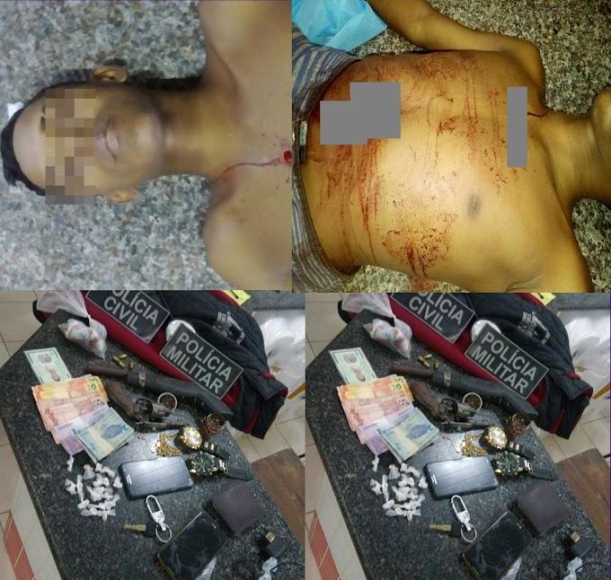 Um morto, três presos, armas e drogas apreendidas durante operação Policial em Chapadinha.