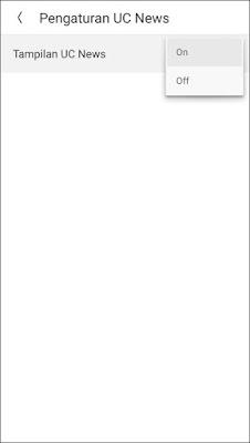 Cara Menghilangkan Notifikasi UC News dan UC Browser