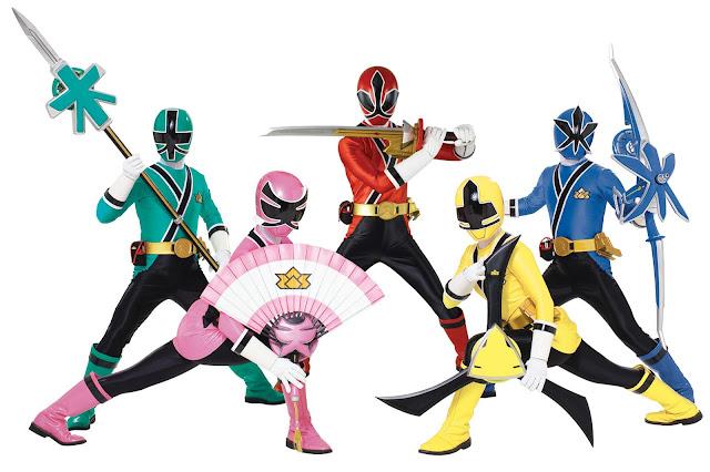 power rangers samurai - 620×464