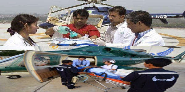 Helicopter Rent for Emergency Medical Transfer in Bangladesh