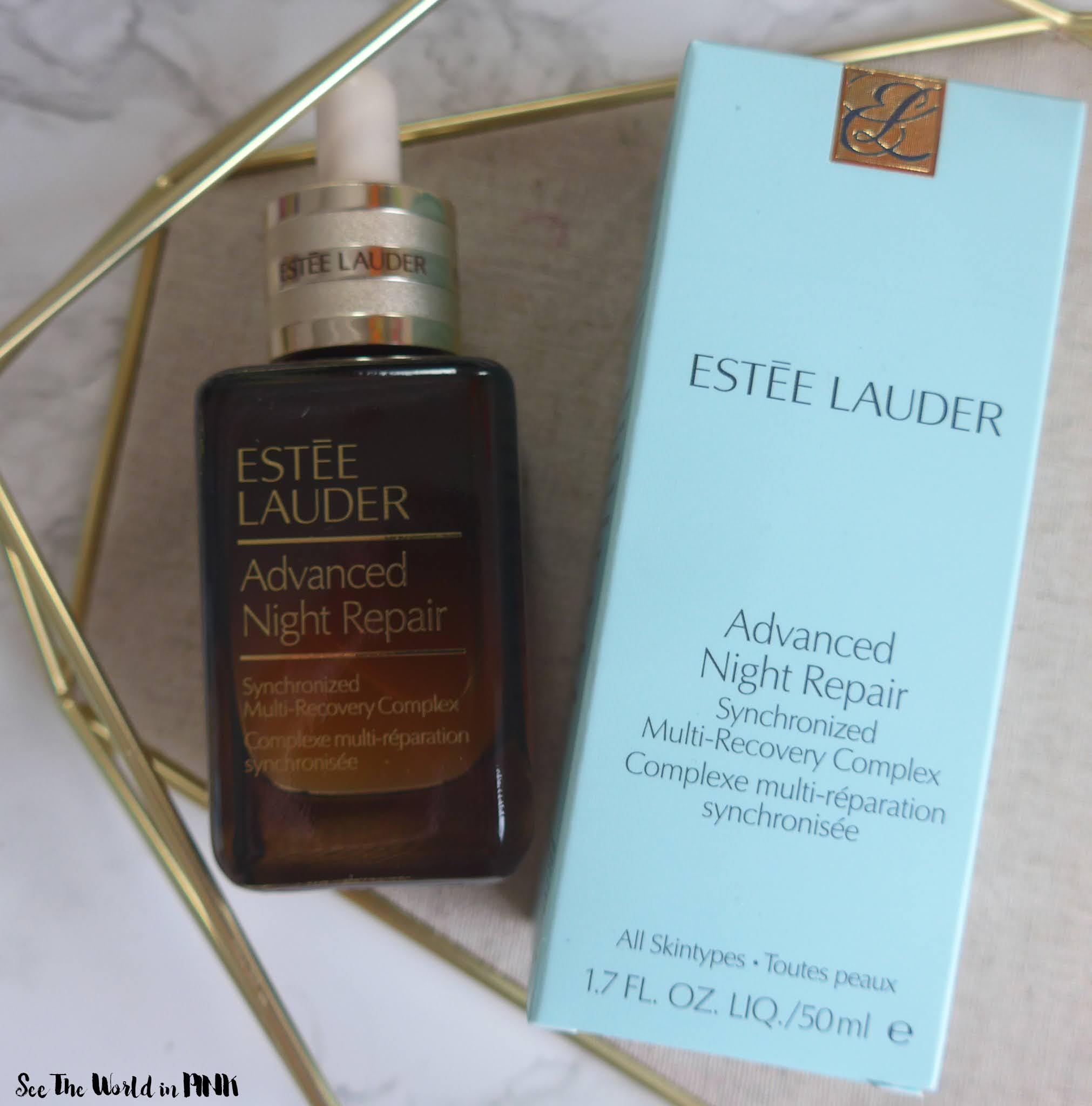 Estee Lauder Advanced Night Repair Synchronized Multi-Recovery Complex Serum & Eye Supercharged Complex