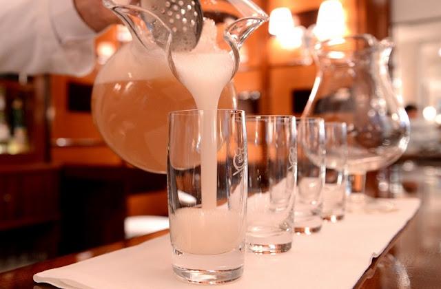 Drinks no Harry's Bar em Veneza