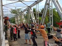 Diputus Pacar, Pria Beristri Ini Hendak Bunuh Diri Lompat dari Jembatan