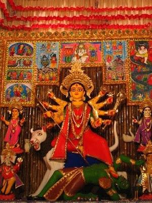 Hindustan park Durga puja