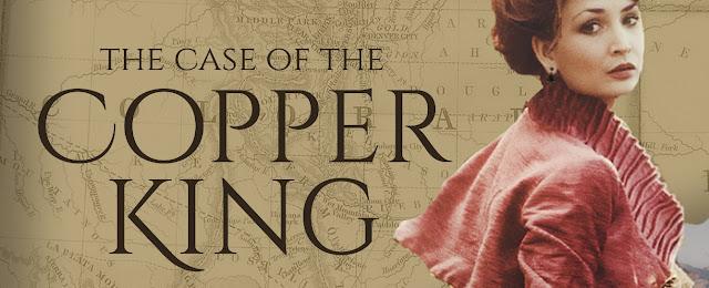 Book Blast Case Copper King, Mckenzie Sisters Mystery Novel