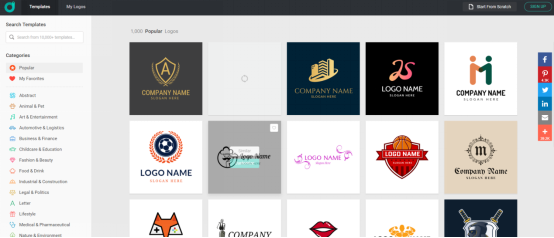 designevo choosing logo
