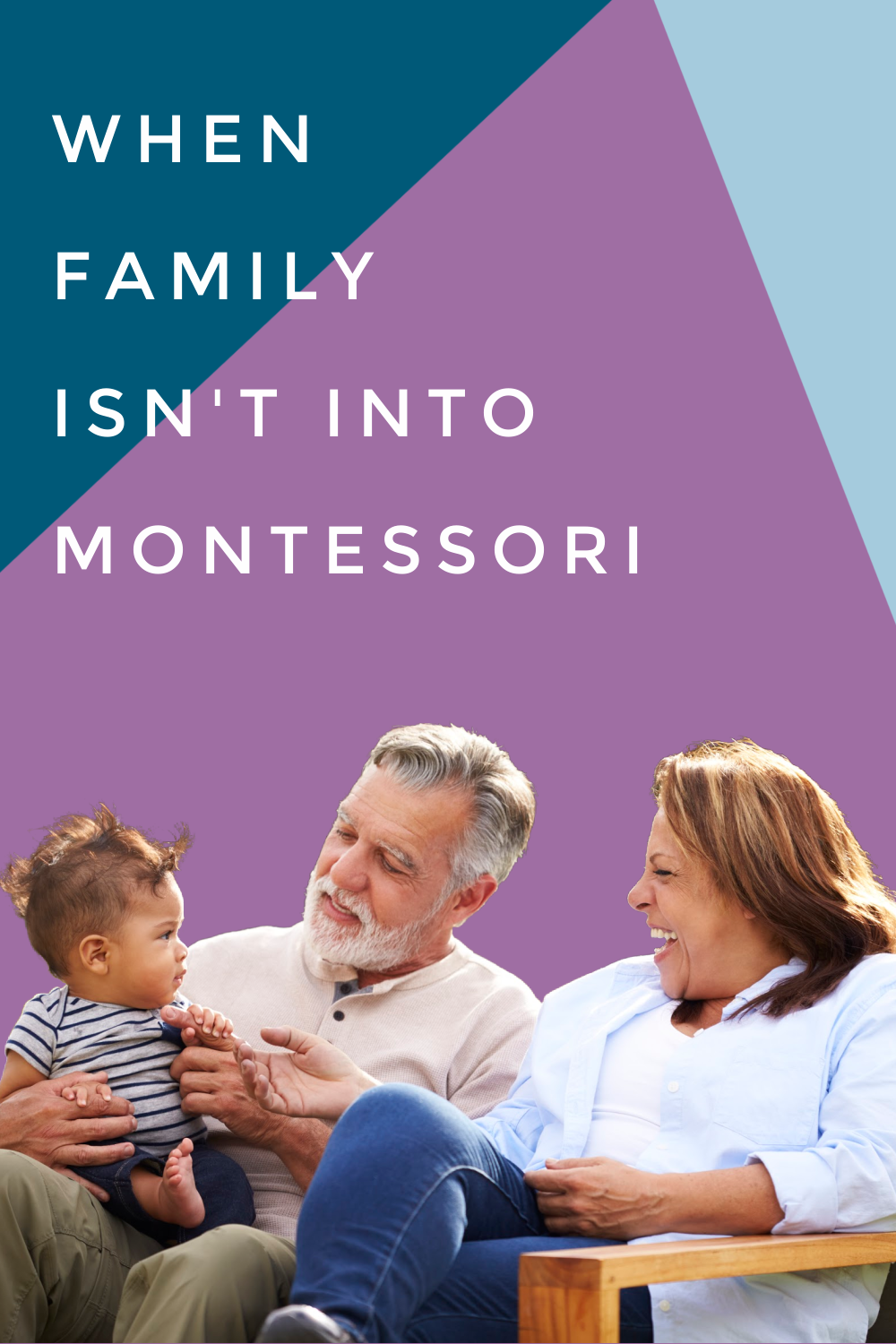 In this Montessori parenting podcast, we discuss how to approach family and friends who parent differently than you, specifically from Montessori