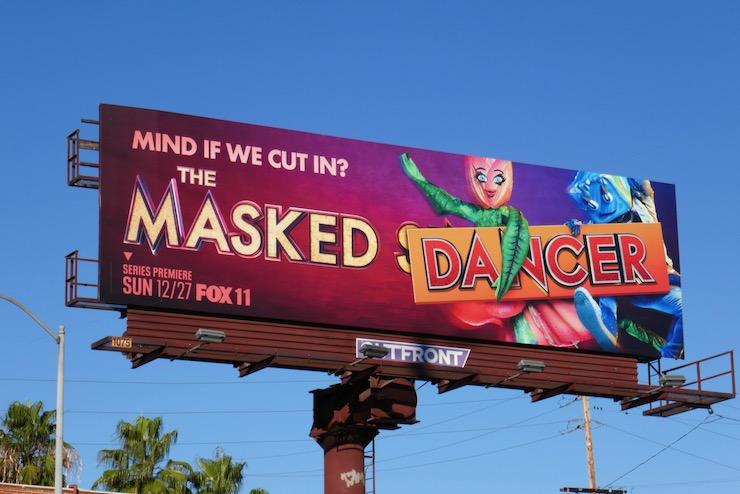 Masked Dancer series premiere billboard