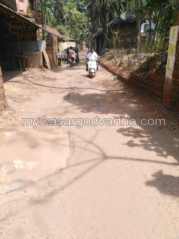 News, Kerala, NYL, Road, Retaring, Vehicles,NYL demands Re tarring of Kudlu Village office Road