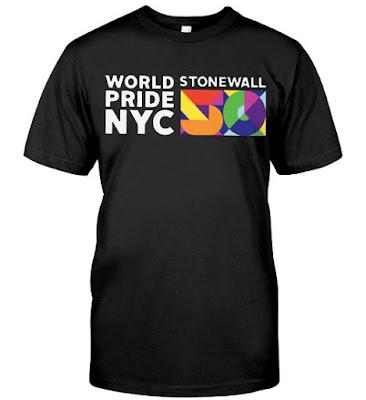 WorldPride NYC 2019 Stonewall 50 T-shirts Hoodie