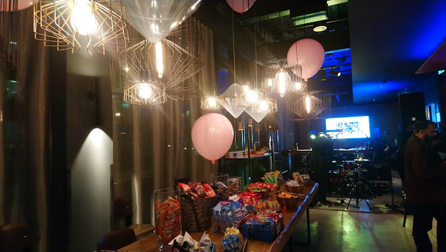Launch night party for the Moxy Hotel, Southampton