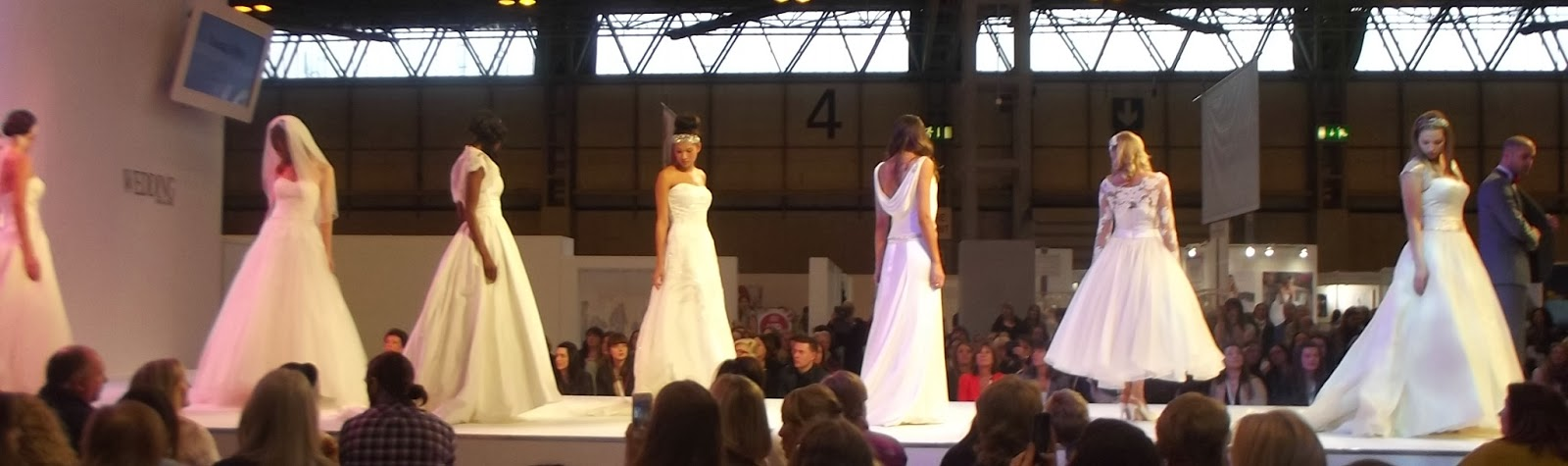 National Wedding Show NEC 2014 Catwalk