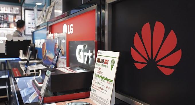 Huawei pausa a produção de smartphones após ser incluída em lista negra dos EUA