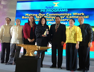 IBM Philippines Wins ANVIL Award For Centennial Celebration of Service