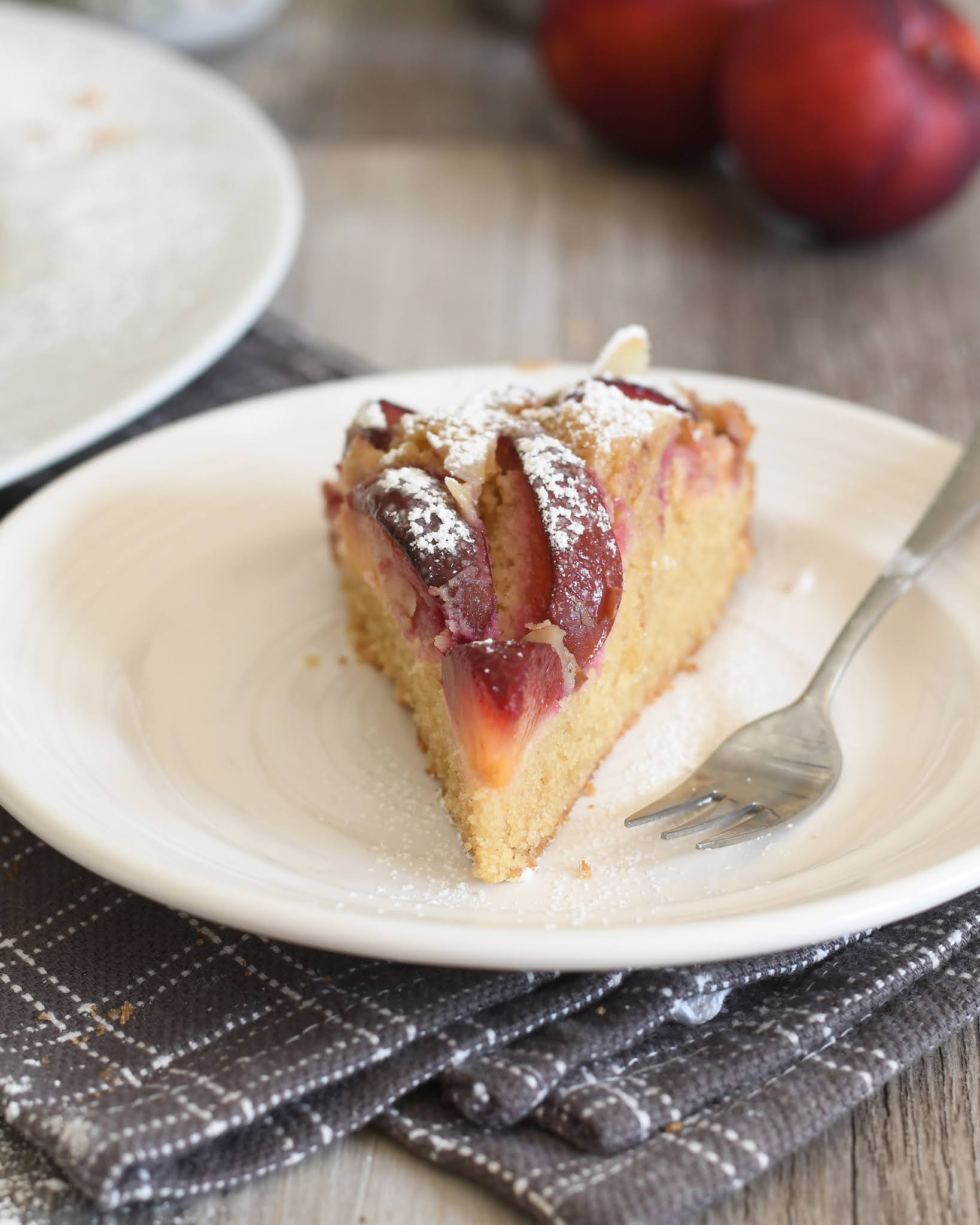 Plum and Almond Cake