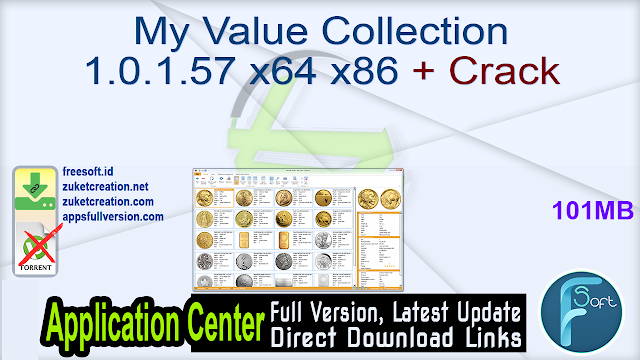 My Value Collection 1.0.1.57 x64 x86 + Crack