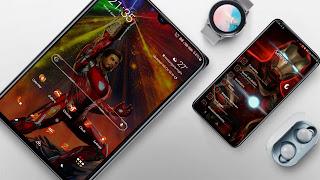 "Samsung Theme "" Iron Man "" Android 10 ( Q  )"
