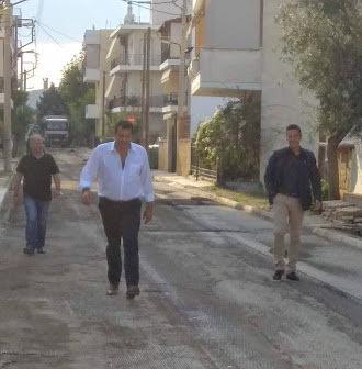Θανάσης Σχίζας : Σε εξέλιξη βρίσκονται σημαντικά έργα υποδομών στο δήμο Φυλής