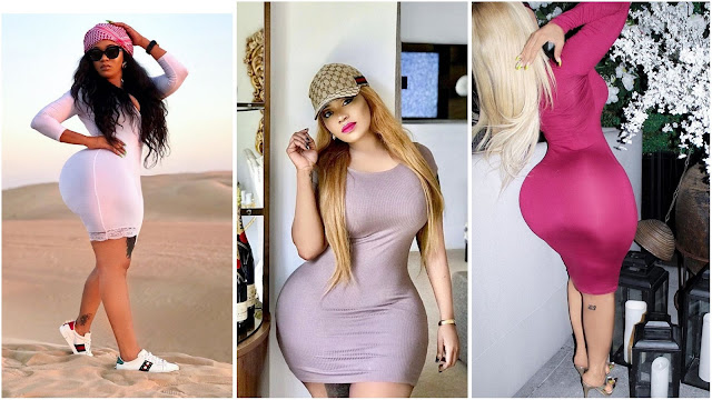My booty is natural, but my breasts, teeth and skin are fake – Vera Sidika reveals