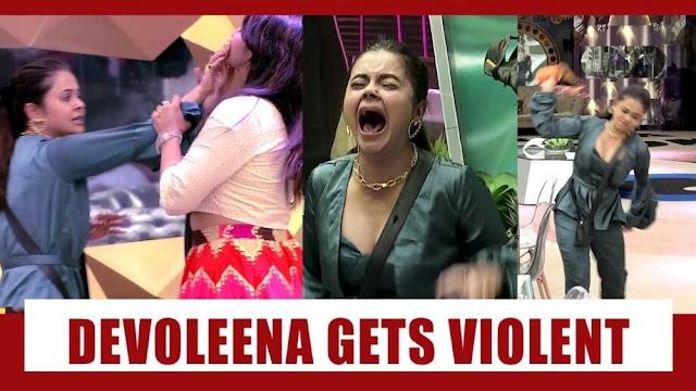Infuriated Devoleena Bhattacharjee Throws Food At Arshi Khan