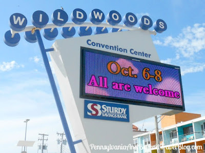Wildwoods Convention Center in New Jersey on the Boardwalk