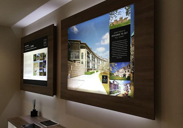 wall mounted lightbox Palu