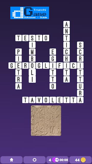 Soluzioni One Clue Crossword livello 10 schemi 9 (Cruciverba illustrato)  | Parole e foto