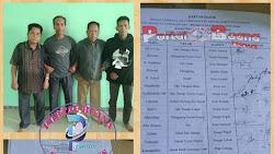 BPN di Larang Terbitkan Sertifikat Tanah Atas Nama Sahrijal dan Marzuki Didesa Tutung Bungkuk