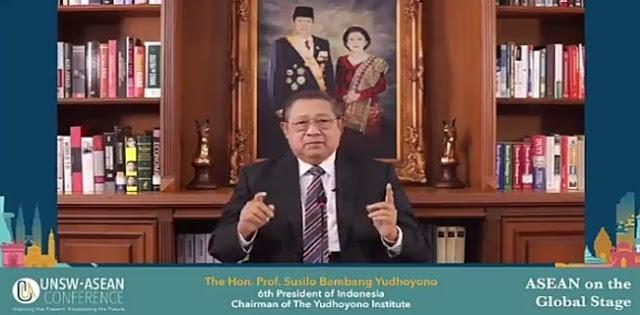 SBY: Tidak Baik Jika Dunia Tiba-tiba Bergerak ke Arah Unilateralisme