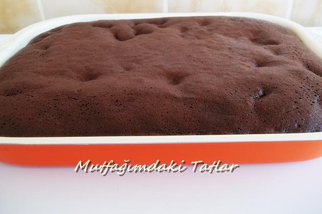 fırın tepsisi kek