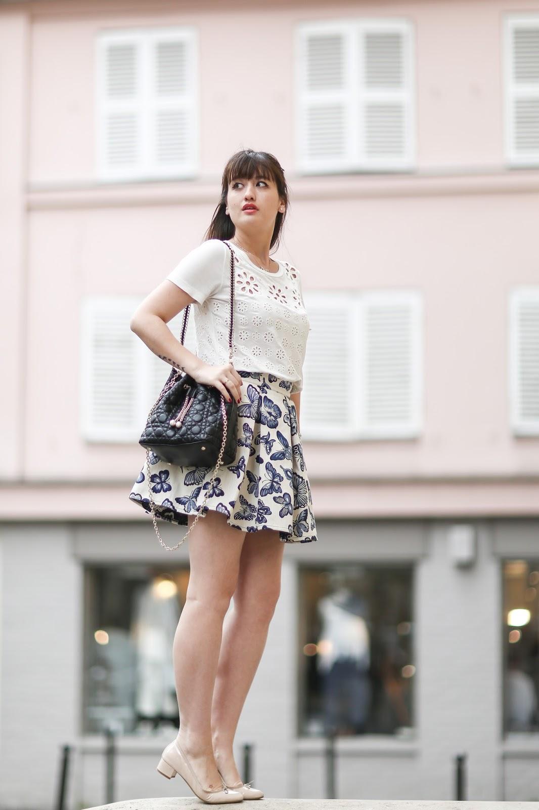 parisian fashion blogger, look, style, meetmeinparee, fashion, chic parisian style, manoush, chic wish