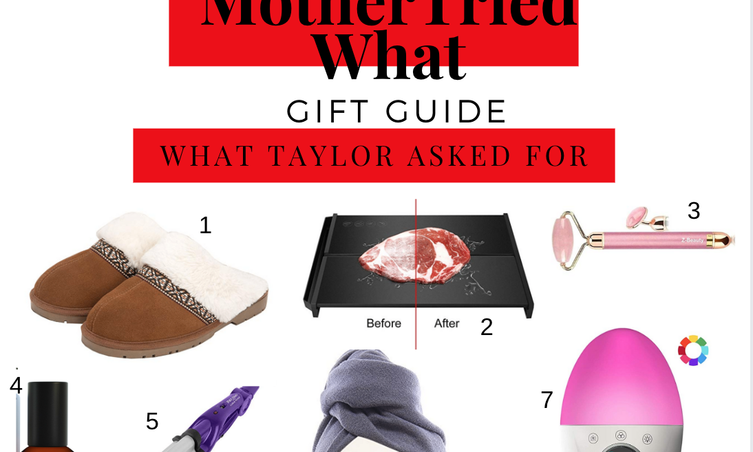 Gift Guide: What Taylor Asked For