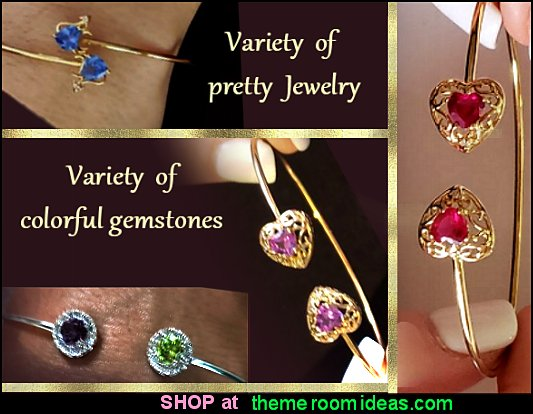 Bracelets - Real Diamond Earrings - Gemstone Pendants - Bangles - Rings