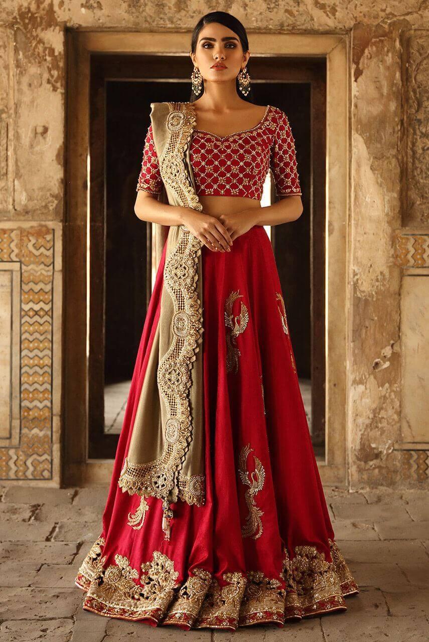 Zardozi Lehenga for Indian and Pakistani Weddings