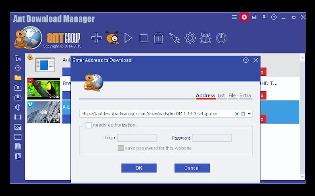تحميل برنامج Ant Download Manager 2020 كامل مجانا برنامج التحميل من النت