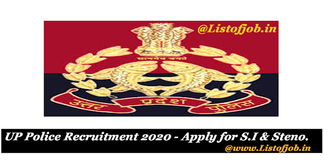 UP Police Recruitment 2020
