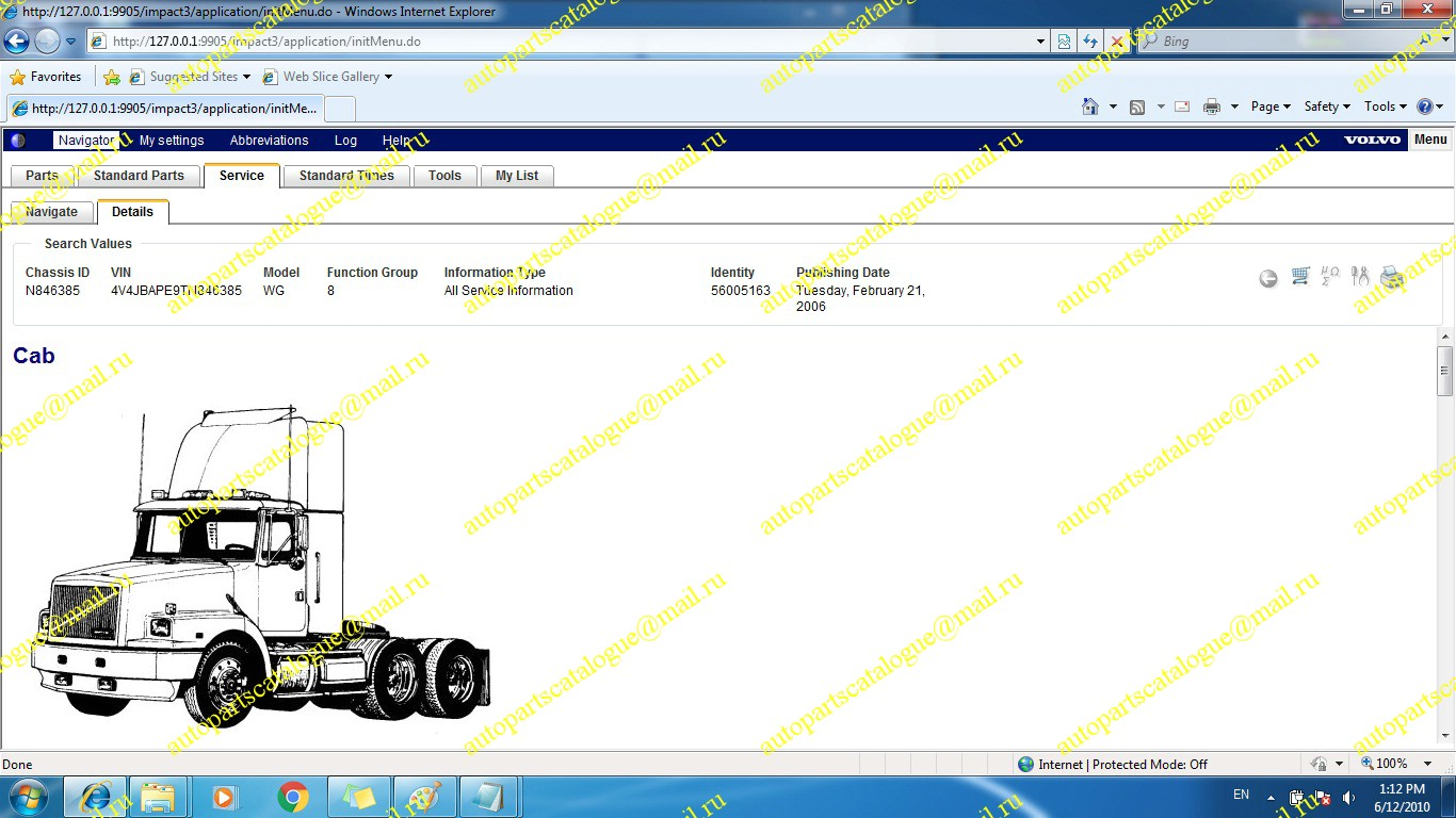 Volvo Impact North America Autopartscatalogue B10m Wiring Diagram Trucks Buses Parts Catalog Service Manuals