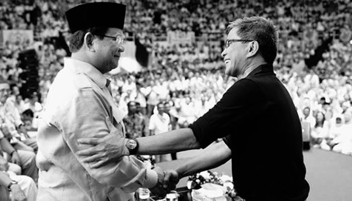Deklarasi Rocky Gerung: Mulai Hari Ini Saya Oposisi Terhadap Prabowo Subianto