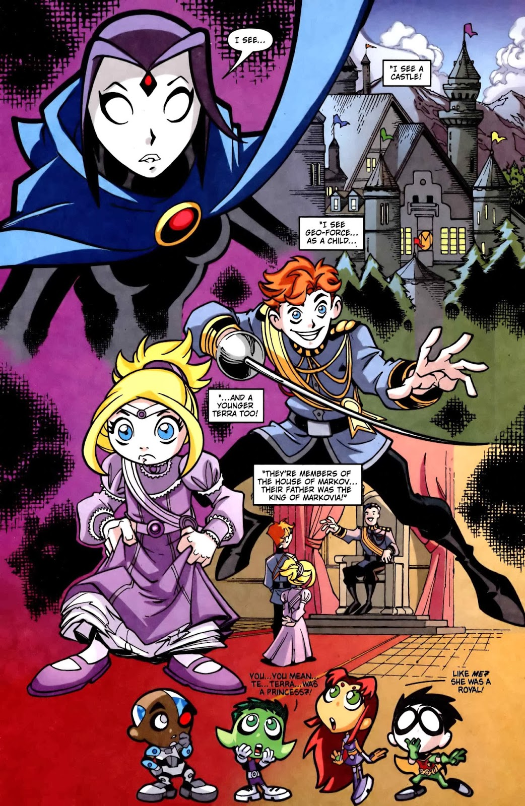 Teen Titans 2003 Comic