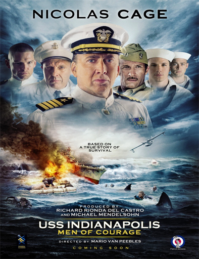 Ver USS Indianapolis: Men of Courage (2016) Online