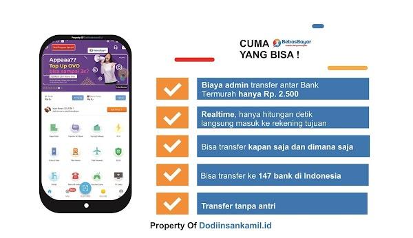 Cara Mudah Transfer Uang antar Bank di BebasBayar.com