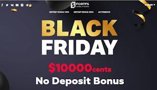 FortFS $100 Forex No Deposit Bonus - Black Friday