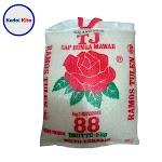 Beras Cap Bunga Mawar 88 5 Kg