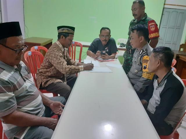Desa Mojorejo Pantau  Mediasi Tim Manager Calon Kades