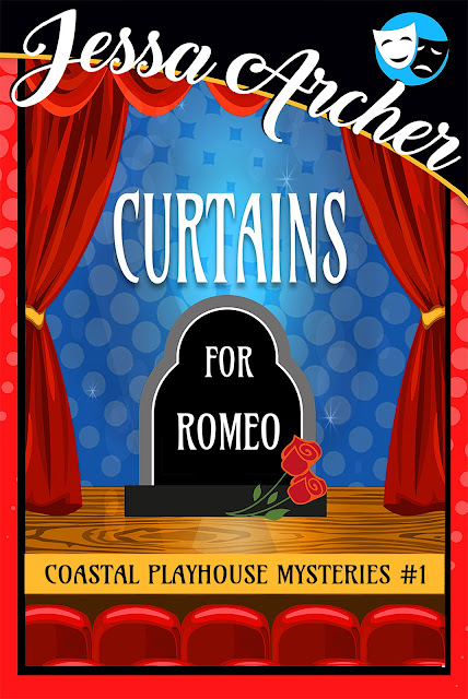 Curtains for Romeo (Coastal Playhouse Mysteries Book 1) by Jessa Archer