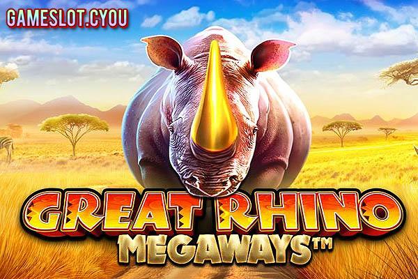Great Rhino Megaways - Game Slot Terbaik Pragmatic Play